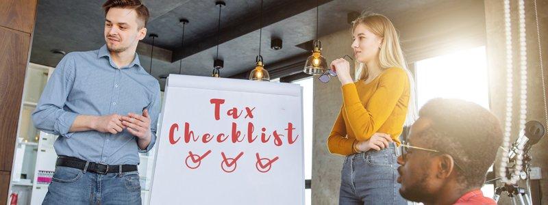 startup tax checklist