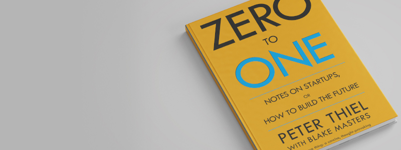Zero to One book cover - secrets of startup success