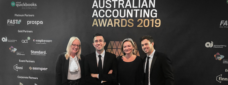Fullstack 2019 Australian Accounting Awards