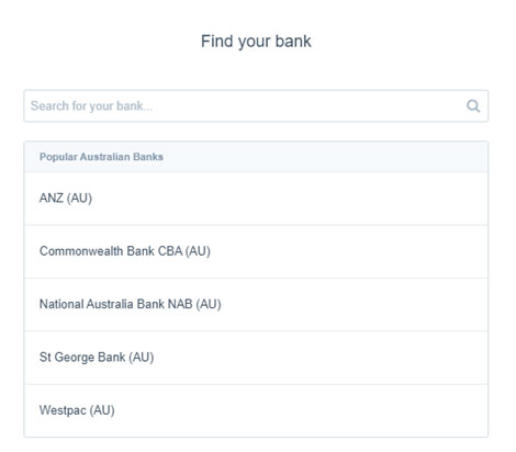 Find Your Bank